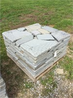 Pallet of Tumbled Wall Stone (Sold by the pallet)