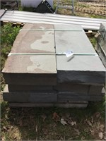 "Pallet of (6) 6""x18""x48"" Nursery Step Stone"