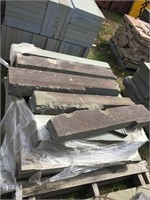 Pallet of Natural Brown Edge Veneer