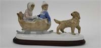 4 Meico Ceramic Figurines
