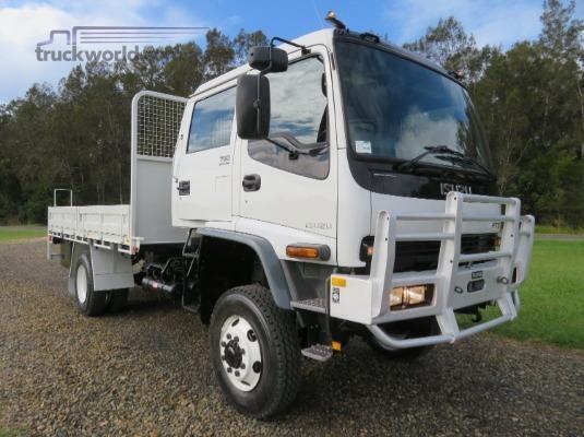 2007 Isuzu FTS 750 4x4 Dual Cab - Trucks for Sale