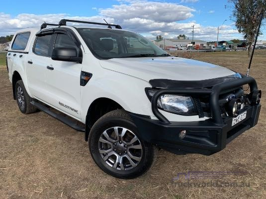 2014 Ford Ranger Crew Cab 4x4 Light Commercial for Sale