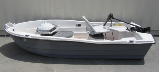 Sun Dolphin Pro 110 10' Boat W/ Minn Kota Motor | United Country