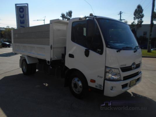 2013 Hino 300 Series 717 Tipper Trucks for Sale