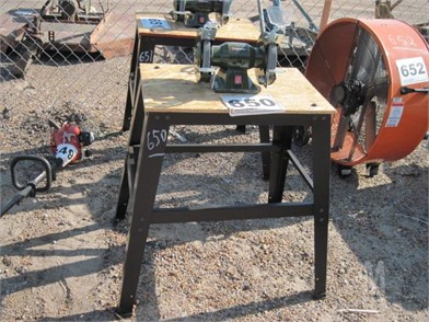 Astonishing Bench Grinder W Stand Other Auction Results 4 Listings Gmtry Best Dining Table And Chair Ideas Images Gmtryco