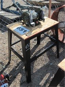 Sensational Bench Grinder W Stand Other Auction Results 4 Listings Spiritservingveterans Wood Chair Design Ideas Spiritservingveteransorg