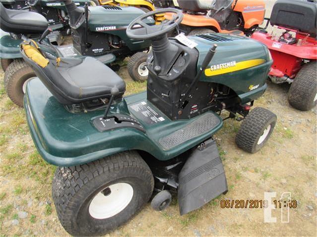 Craftsman Lt1000 Riding Mower >> Craftsman Lt1000 For Sale In Leola Pennsylvania Equipmentfacts Com
