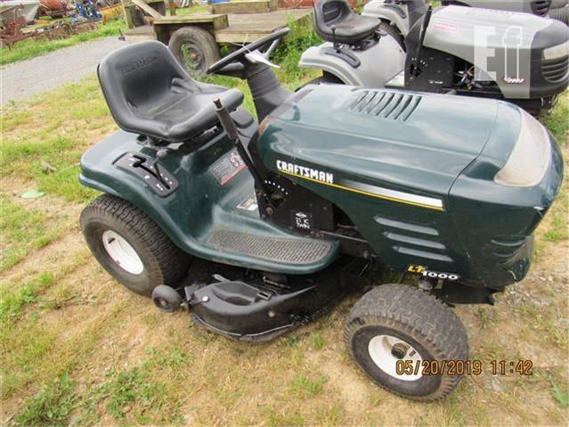 Craftsman Lt1000 Riding Mower >> Lot 136 Craftsman Lt1000 For Sale In Leola Pennsylvania