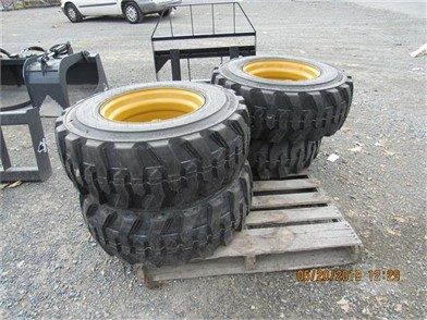 NEW-12-16 5 GREATROAD TIRES ON NH/JD/GEHL RIMS-SET Other