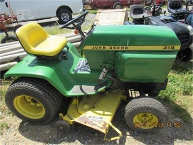 JOHN DEERE 316 Auction Results - 15 Listings | TractorHouse