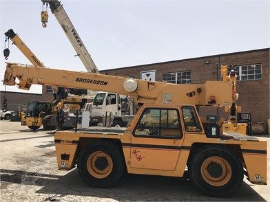 Carry Deck Cranes / Pick And Carry Cranes For Sale - 577 Listings