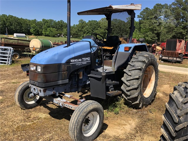 1998 NEW HOLLAND TS110 For Sale In Iron City, Tennessee
