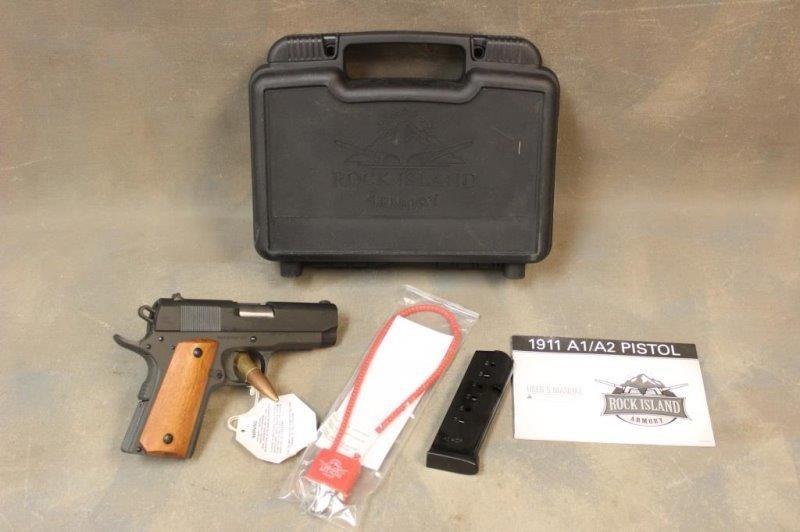 Rock Island Armory 1911 Compact RIA2004100 Pistol | Smith
