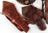 Firearm Leather Gun Belts and Holsters