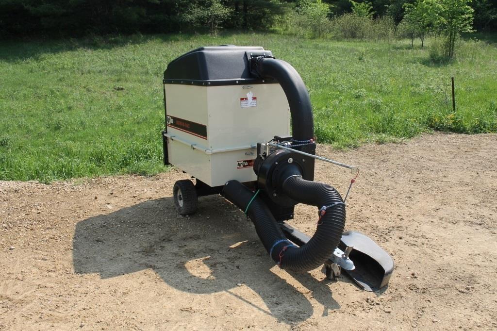 Agri Fab Mow N Vac Hd1000 Pull Type Vac System Spencer Sales