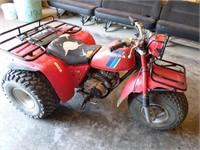 1984 Honda 200 Big Red 3-wheeler (shaft drive-High&low range)