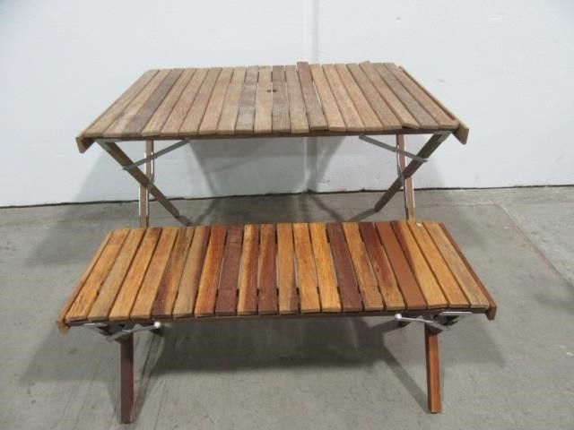 Stupendous Marlboro Portable Picnic Table Bench United Country Onthecornerstone Fun Painted Chair Ideas Images Onthecornerstoneorg