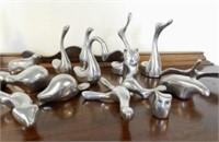 Several Hoselton sculptures