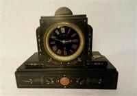 Art Deco clock, marked Jean Messiaen Anvers, Belgium