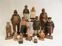 Carvings by Canadian Carl Johan Trygg (born Sweden 1887-1954) and others including Trygg Jr., sold separately, condition noted