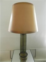 Mid-Century modern glass table lamp