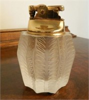 Lalique lighter, marked