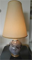 Round table lamp by Catalan-Canadian Jordi Bonet RCA (1932-1979), flutist design, estimate $600-$900