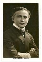Houdini, Harry. Real Photographic Postcard