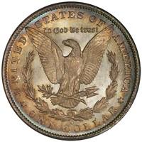 $1 1893-O PCGS MS66PL CAC EX ELIASBERG