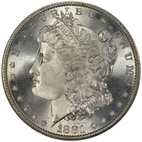 $1 1881-S PCGS MS68 CAC CORONET COLLECTION