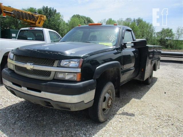 Lot 52v 2005 Chevrolet Silverado 3500 For Sale In Washington Indiana