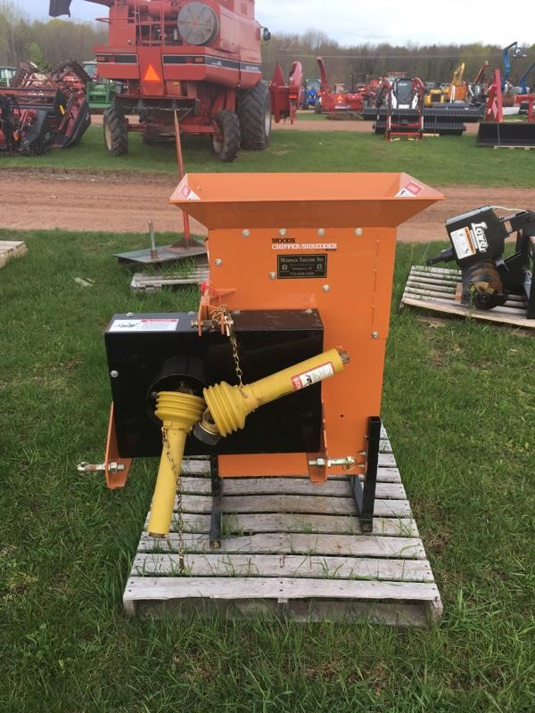 Wood and Brush Chippers For Sale : Forestry Equipment Guide