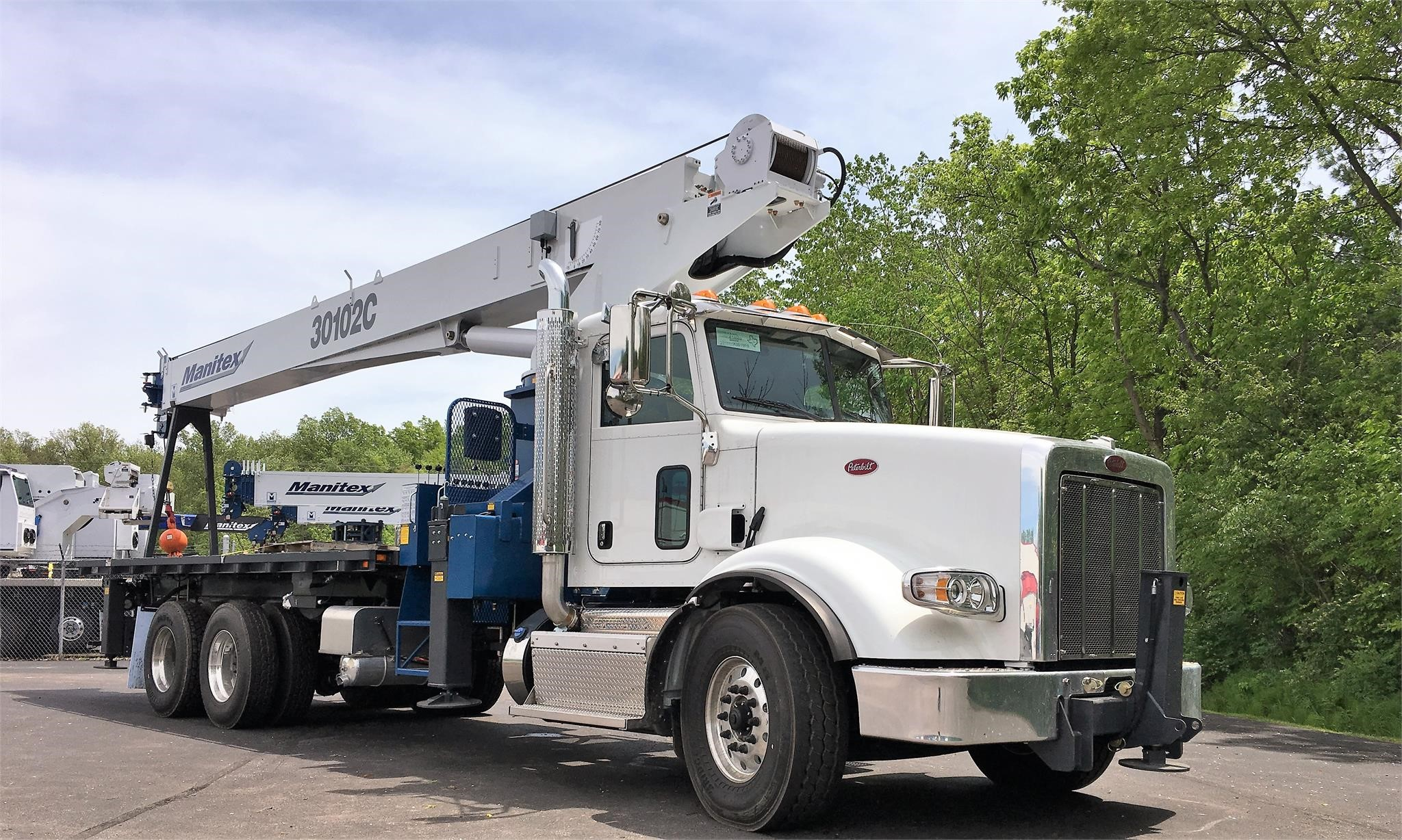 2019 MANITEX 30102C MOUNTED ON 2019 PETERBILT 367 For Sale in