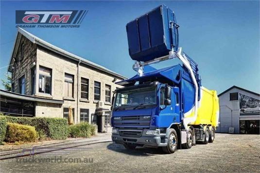DAF FAD CF75 8x4 Rigid Space Cab