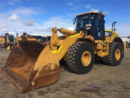 2012 Caterpillar 972H Heavy Machinery for Sale