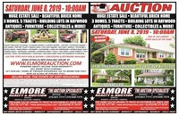 HUGE ESTATE SALE - 3 HOMES - LOTS - ANTIQUES - FURNITURE - M