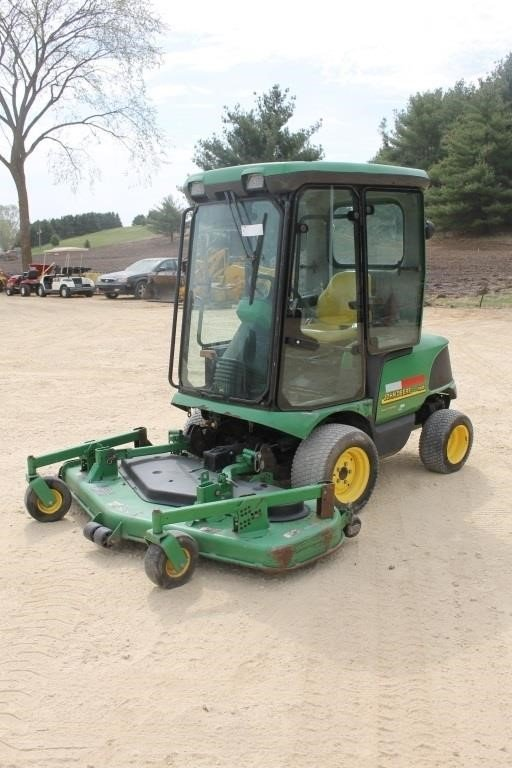 JOHN DEERE 1445 FRONT DECK LAWN MOWER WITH CAB | SPENCER SALES