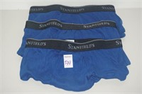 STANFIELD'S 3PACK SMALL MENS UNDERWEAR