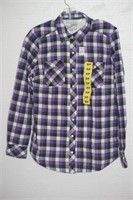 BC CLOTHING WOMENS SMALL FLEECED LINED SHIRT