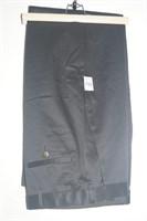 HAGGAR CLOTHING PREMIUM DRESS KHAKI STRAIGHT