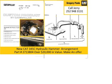 caterpillar 345c for sale - 8 listings | machinerytrader com - page on  cat sel cub cadet volunteer wiring diagram