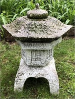 Cement Pagoda Yard Decor