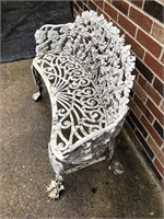 Decorative Metal Garden Bench
