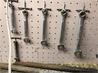 Craftsman Wrench Set With Crowbars