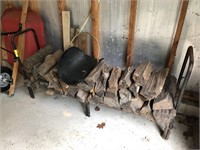 Fire Wood With Stand