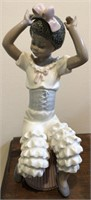 Lladro no. 5160 Young Coloured Rumba Dance