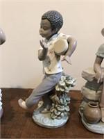 "Lladro no. 5157  ""Young Coloured Boy"" Figurine"