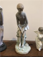 "Lladro no. 4851  ""Golf Player"" Figurine"