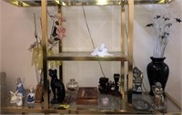 Large Lot Of Decorative Items and Figurines