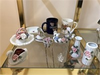Large Lot Of Decorative Items Lot includes